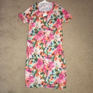 NWT Fitted floral maternity dress by PinkBlush